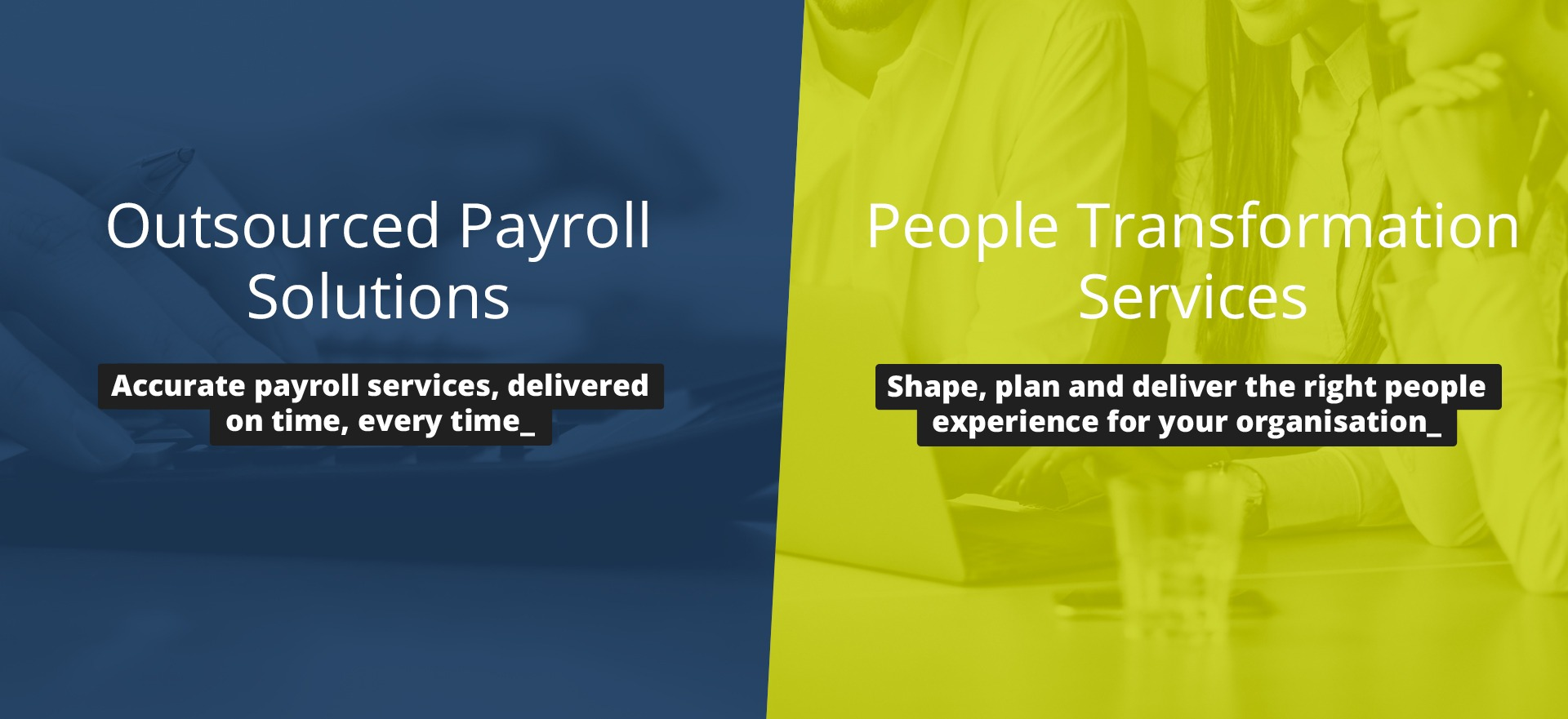 CE Back Office - People Transformation & Payroll Services